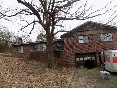Heavener Single Family Home For Sale: 606 E G AVE