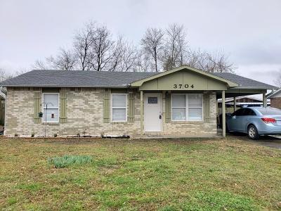Van Buren Single Family Home For Sale: 3704 Terry ST