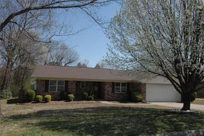 Fort Smith AR Single Family Home For Sale: $155,000