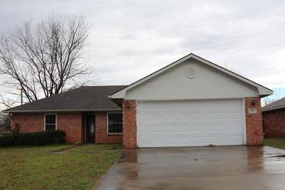 Roland OK Single Family Home For Sale: $54,000