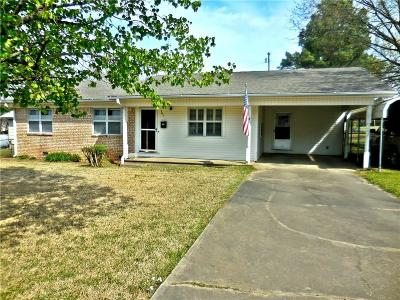 Heavener Single Family Home For Sale: 705 Avenue B