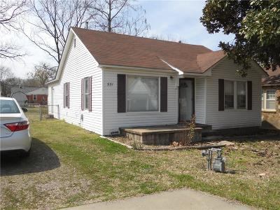 Fort Smith Single Family Home For Sale: 531 N 39th ST