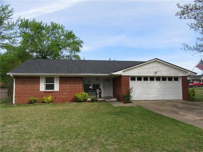 Fort Smith AR Single Family Home For Sale: $124,000