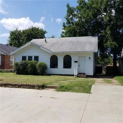 Fort Smith AR Single Family Home For Sale: $63,900