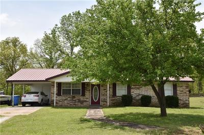 Sequoyah County Single Family Home For Sale: 452860 E 1020 RD