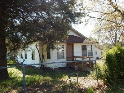 Poteau OK Single Family Home For Sale: $30,000