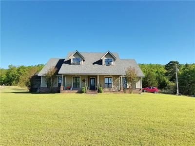 Wister Single Family Home For Sale: 26246 360th ST