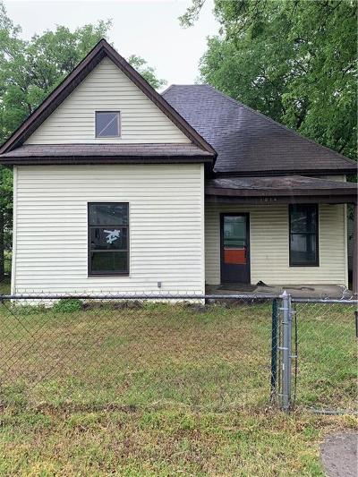 Fort Smith AR Single Family Home For Sale: $24,900
