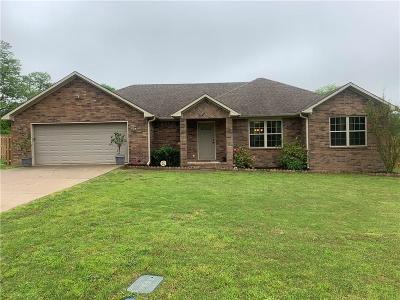 Alma Single Family Home For Sale: 2718 Mountain Grove RD