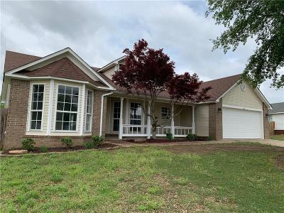 Van Buren Single Family Home For Sale: 1210 Ruby Circle