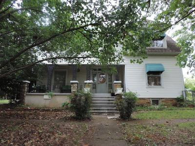 Heavener Single Family Home For Sale: 100 W 2nd ST