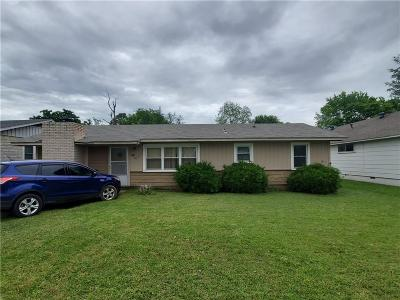 Fort Smith AR Single Family Home For Sale: $60,000