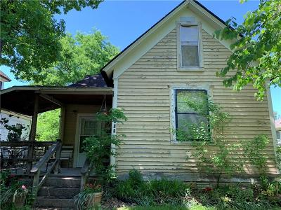 Fort Smith AR Single Family Home For Sale: $37,000
