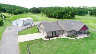 Wister Single Family Home For Sale: 35589 Pleasant Valley RD