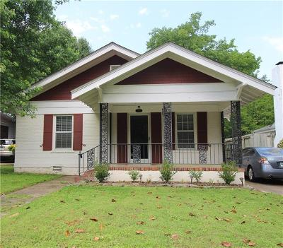 Fort Smith AR Single Family Home For Sale: $127,500