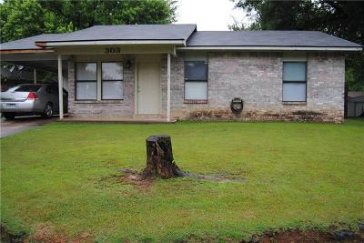 Van Buren Single Family Home For Sale: 303 41st ST