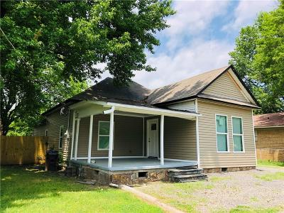 Fort Smith AR Single Family Home For Sale: $99,000