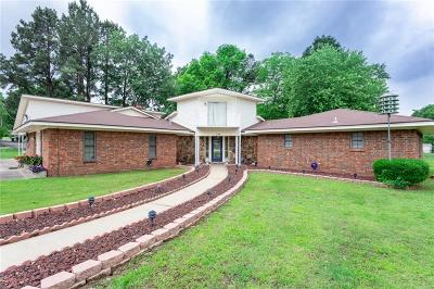 Muldrow Single Family Home For Sale: 504 E SEQUOYAH ST