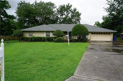 Fort Smith AR Single Family Home For Sale: $149,000