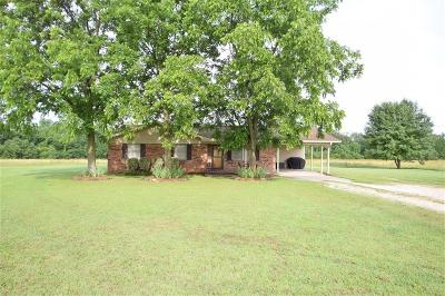 Sallisaw OK Single Family Home For Sale: $155,000