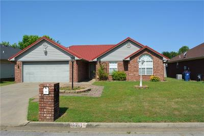 Fort Smith AR Single Family Home For Sale: $139,500