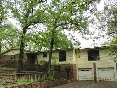 Poteau OK Single Family Home For Sale: $119,900