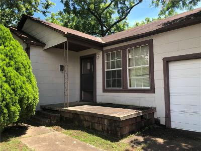 Fort Smith AR Single Family Home For Sale: $45,000