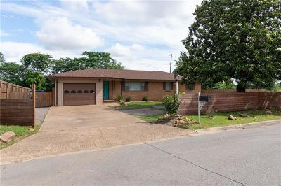Fort Smith AR Single Family Home For Sale: $124,750