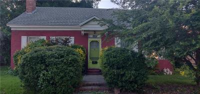 Van Buren Single Family Home For Sale: 415 Webster ST