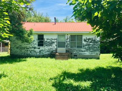 Sallisaw OK Single Family Home For Sale: $25,000