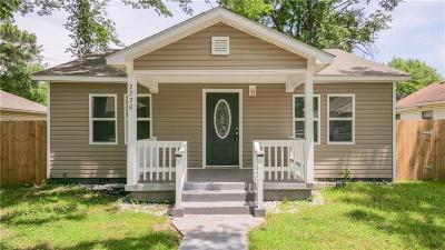 Fort Smith AR Single Family Home For Sale: $87,500