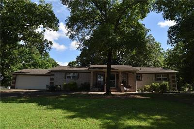 Sallisaw OK Single Family Home For Sale: $120,000
