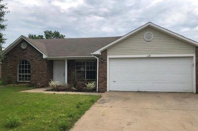 Greenwood AR Single Family Home For Sale: $80,800