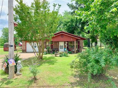 Howe OK Single Family Home For Sale: $97,500