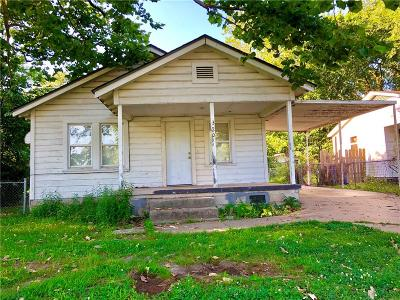 Fort Smith AR Single Family Home For Sale: $48,000