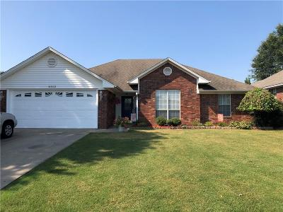 Fort Smith AR Single Family Home For Sale: $168,900