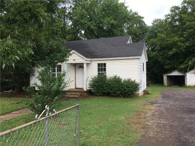 Lavaca AR Single Family Home For Sale: $59,900