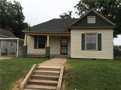 Fort Smith AR Single Family Home For Sale: $30,000