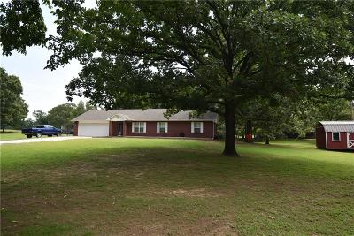 Sallisaw Single Family Home For Sale: 1910 S Shiloh RD