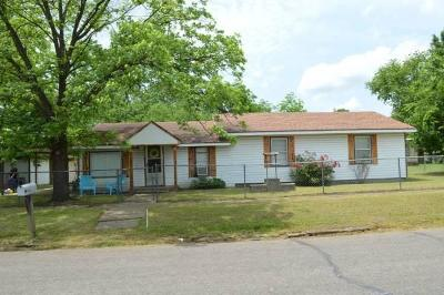 Sallisaw Single Family Home For Sale: 519 S Oak Street