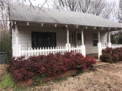 Poteau OK Single Family Home For Sale: $16,000