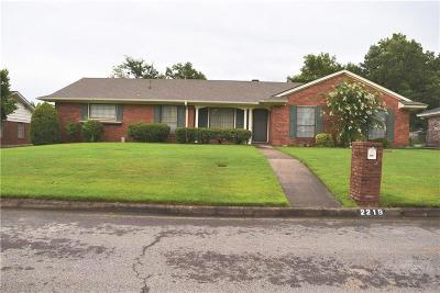 Fort Smith AR Single Family Home For Sale: $168,000