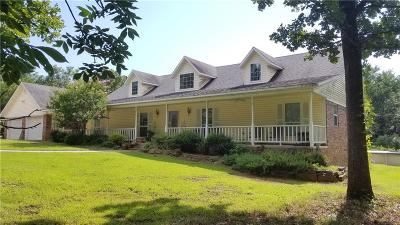 Leflore County Single Family Home For Sale: 34245 Cooper RD