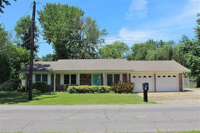 Sallisaw OK Single Family Home For Sale: $88,000