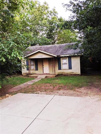 Fort Smith AR Single Family Home For Sale: $19,000
