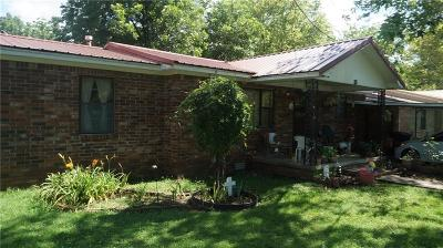 Muldrow Single Family Home For Auction: 507 SW 9th ST