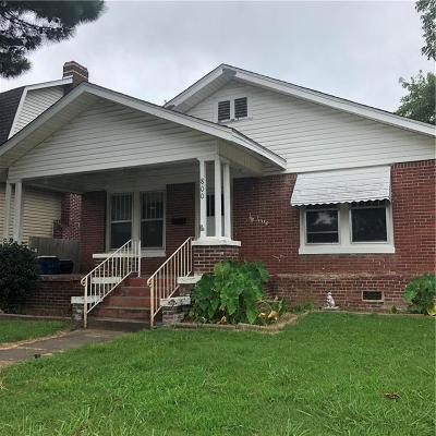 Fort Smith AR Single Family Home For Sale: $54,000