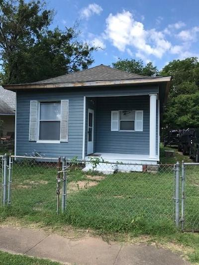 Fort Smith AR Single Family Home For Sale: $59,500