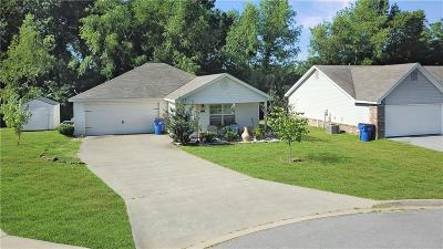 Fort Smith AR Single Family Home For Sale: $98,000