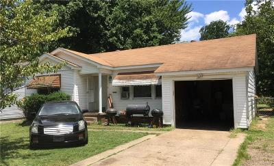 Fort Smith AR Single Family Home For Sale: $68,000